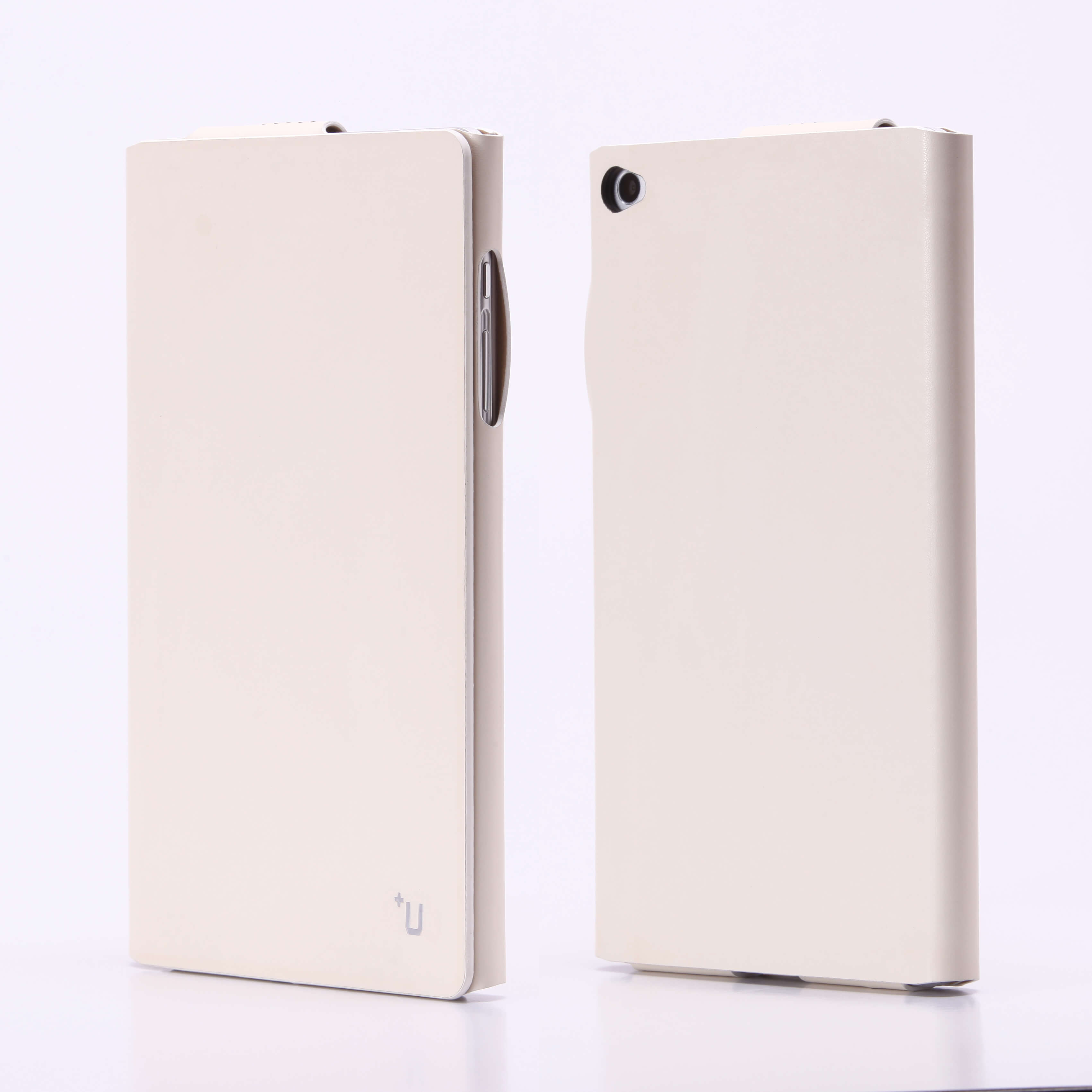 dtab Compact d-02H 【+U】James/One Sheet of Leather case/ホワイト