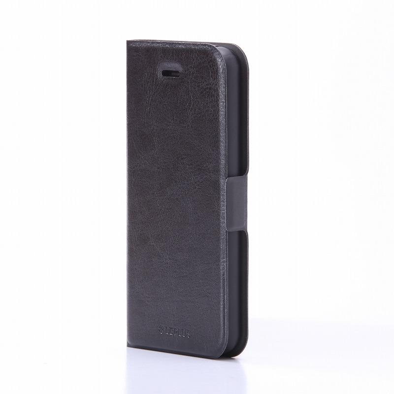 iPhone SE/5S/5 薄型PUレザーケース 「PRIME」 ブラック