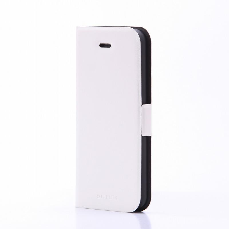 iPhone SE/5S/5 薄型PUレザーケース 「PRIME」 ホワイト