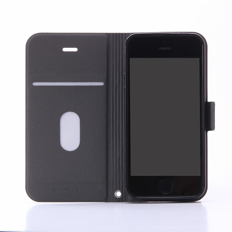 iPhone SE/5S/5 薄型PUレザーケース 「PRIME」 ネイビー