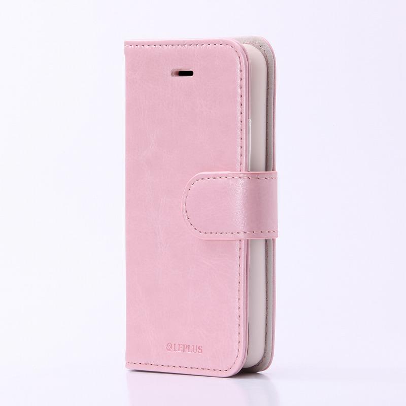 iPhone SE/5S/5 PUレザーケース 「BOOK」 ピンク