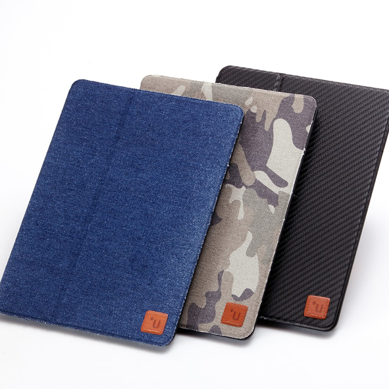 iPad Pro 9.7inch 【+U】Fabio/Slim Fabric Flap Case/カモフラージュ柄