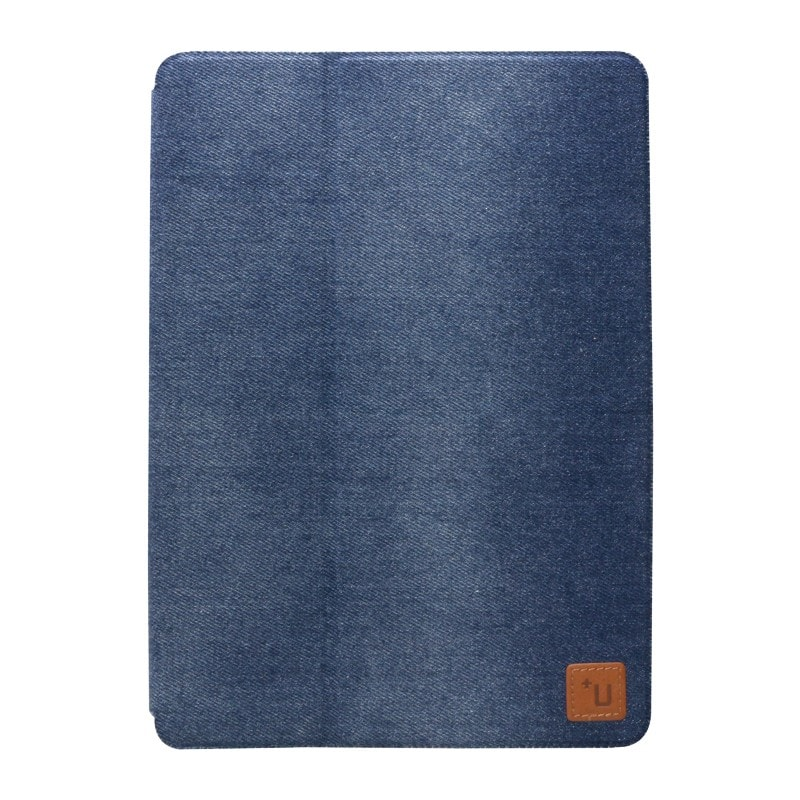 iPad Pro 9.7inch 【+U】Fabio/Slim Fabric Flap Case/デニム柄