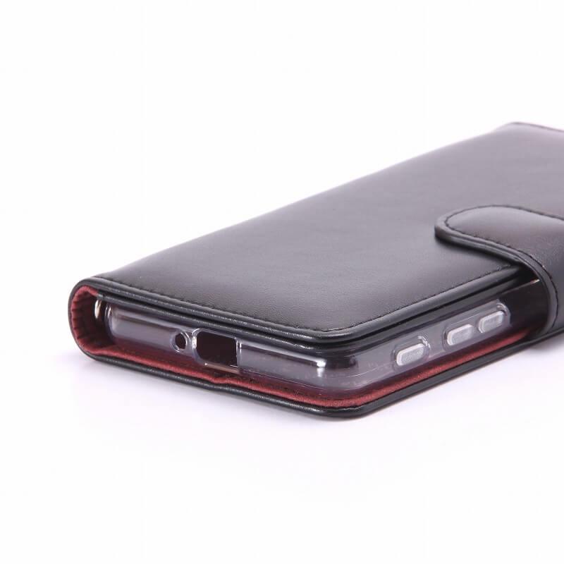 Xperia(TM) X Performance SO-04H/SOV33/SoftBank ブックタイプPUレザーケース「BOOK」 ブラック