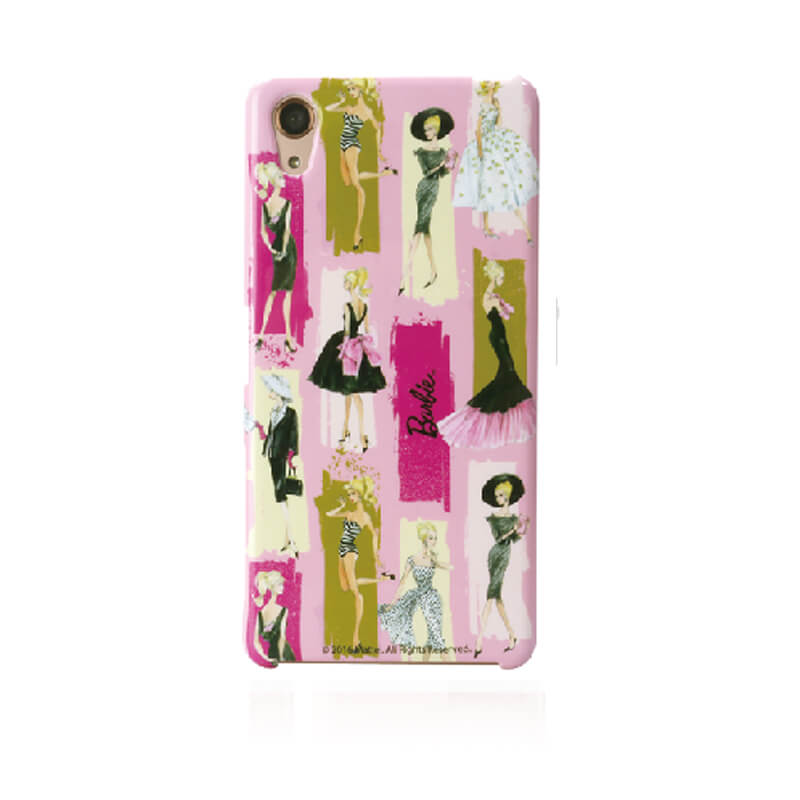 Xperia(TM) X Performance SO-04H/SOV33/SoftBank 「Barbie Design HARD」 ファッション柄