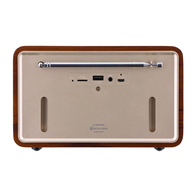 ワイヤレス スピーカー 「Classica Premium(クラシカ プレミアム)」  ウォールナットウッド調