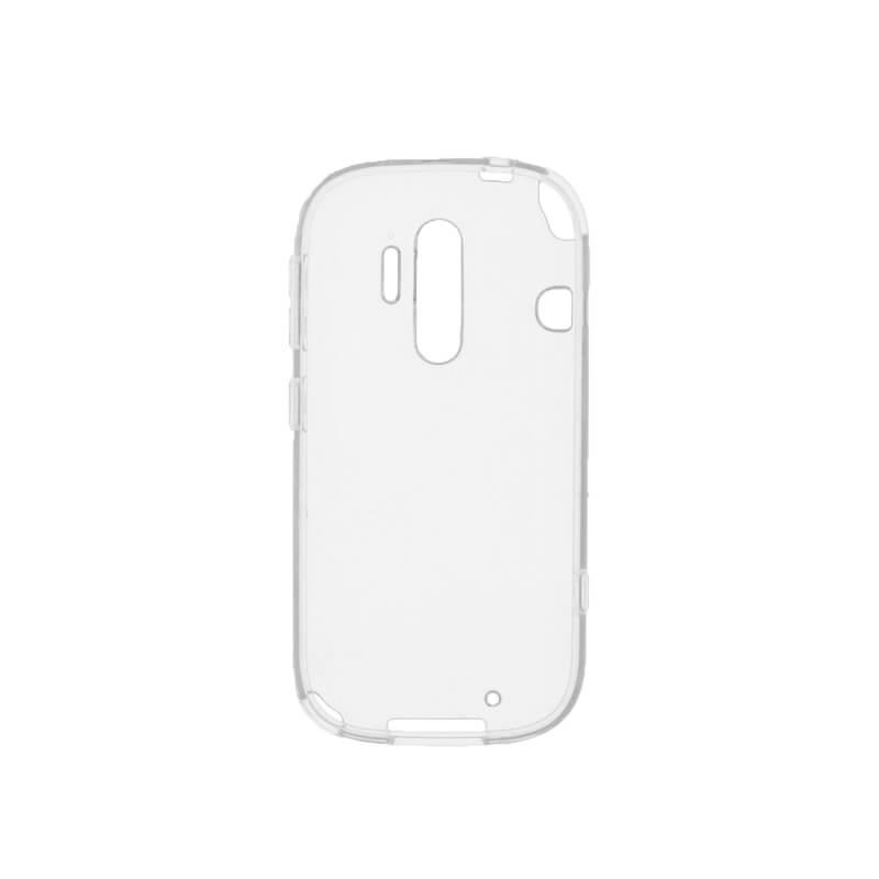 らくらくスマートフォン4 F-04J ガラスフィルム+ソフトケース セット 「GLASS + CLEAR TPU」 通常 0.33mm&クリア TPU
