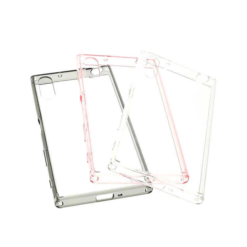 Xperia(TM) XZ/XZs SO-03J/SOV35/SoftBank 耐衝撃ケース「CLEAR TOUGH」 クリア
