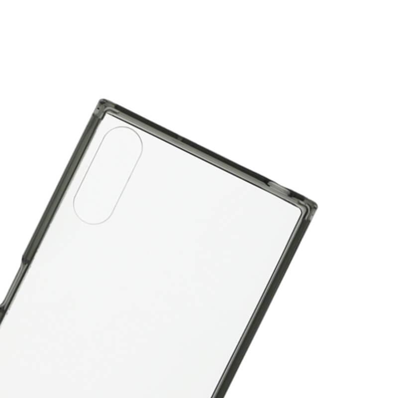 Xperia(TM) XZ/XZs SO-03J/SOV35/SoftBank 耐衝撃ケース「CLEAR TOUGH」 スモーク