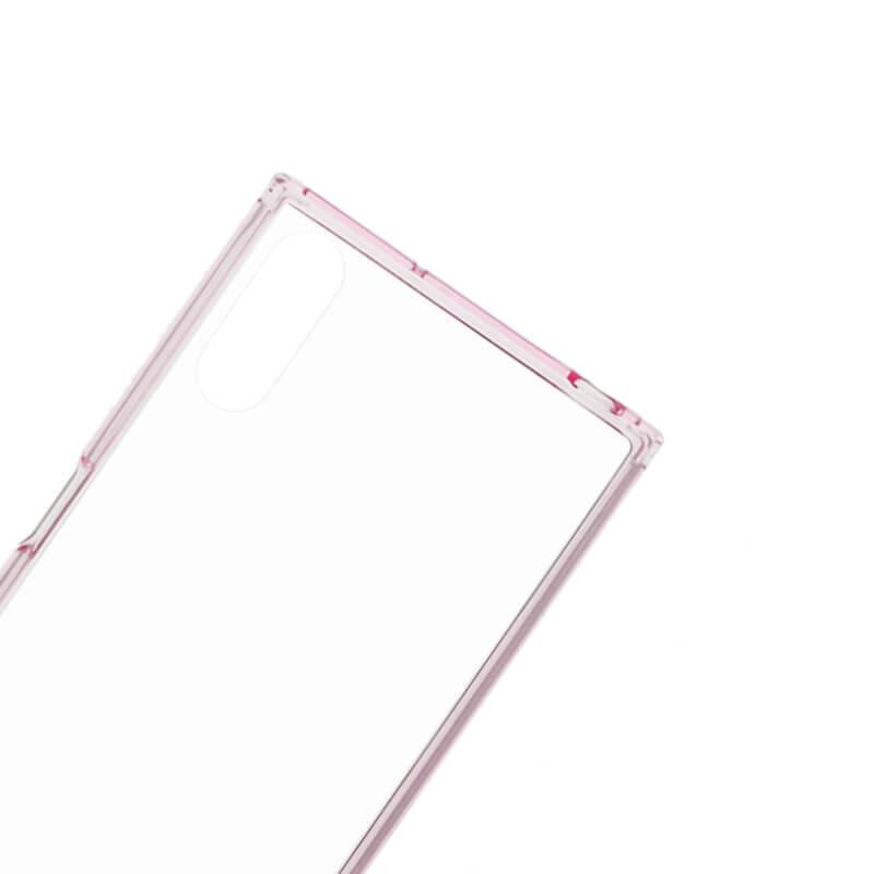 Xperia(TM) XZ/XZs SO-03J/SOV35/SoftBank 耐衝撃ケース「CLEAR TOUGH」 ピンク
