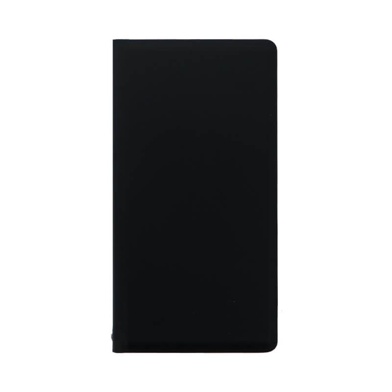 Xperia(TM) XZ/XZs SO-03J/SOV35/SoftBank 薄型PUレザーケース「PRIME」 (耐衝撃TPUケース)ブラック