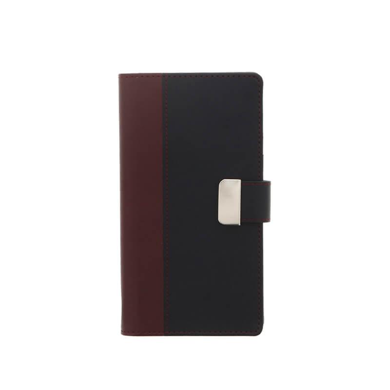 Xperia(TM) XZ/XZs SO-03J/SOV35/SoftBank 上質PUレザーブックケース「PREMIER」 レッド