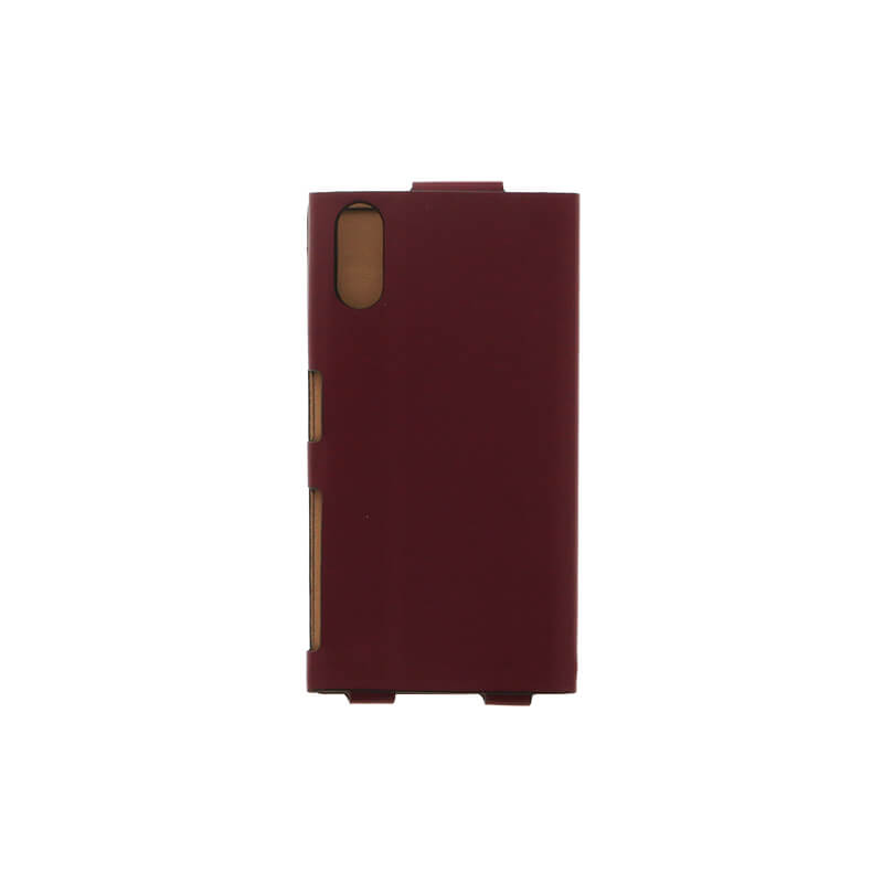 Xperia(TM) XZ/XZs SO-03J/SOV35/SoftBank 一枚革PUレザーケース「Primo」 ワインレッド