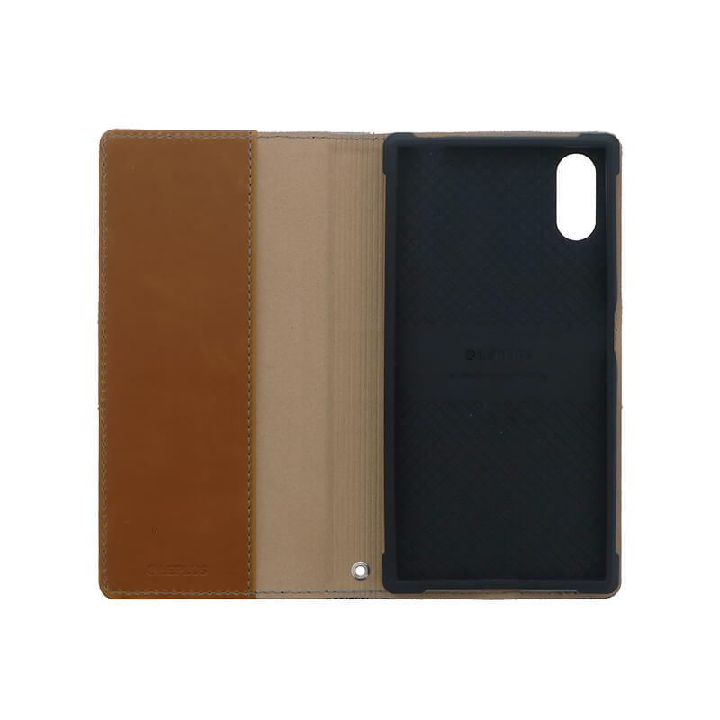 Xperia(TM) XZ/XZs SO-03J/SOV35/SoftBank デニムフラップケース「WINDE」 (耐衝撃TPUケース)3色デニム A