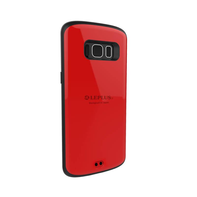 Galaxy S8 SC-02J/SCV36 耐衝撃ケース「PALLET」 レッド
