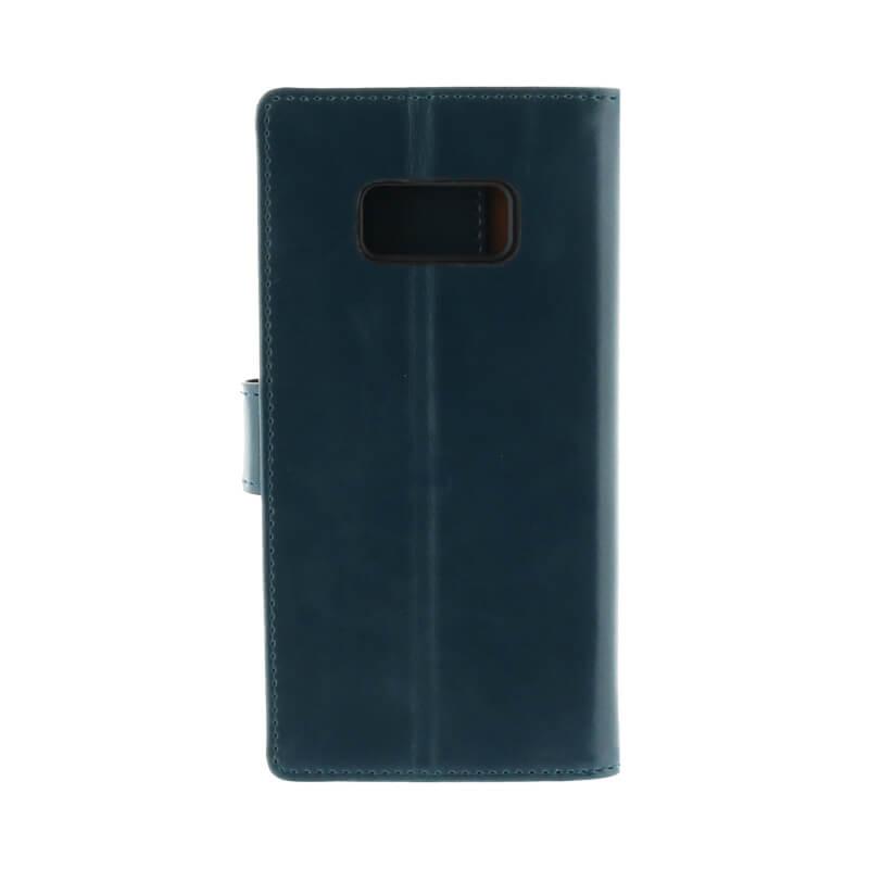 Galaxy S8 SC-02J/SCV36 PUレザーブックケース「Precious」 ネイビー