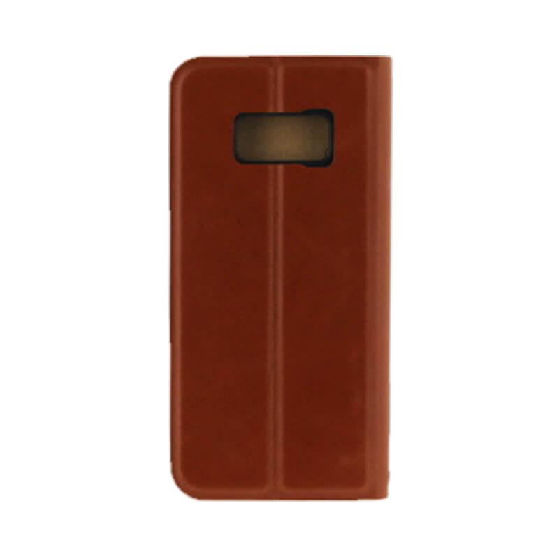 Galaxy S8 SC-02J/SCV36 薄型PUレザーケース「PRIME」 キャメル