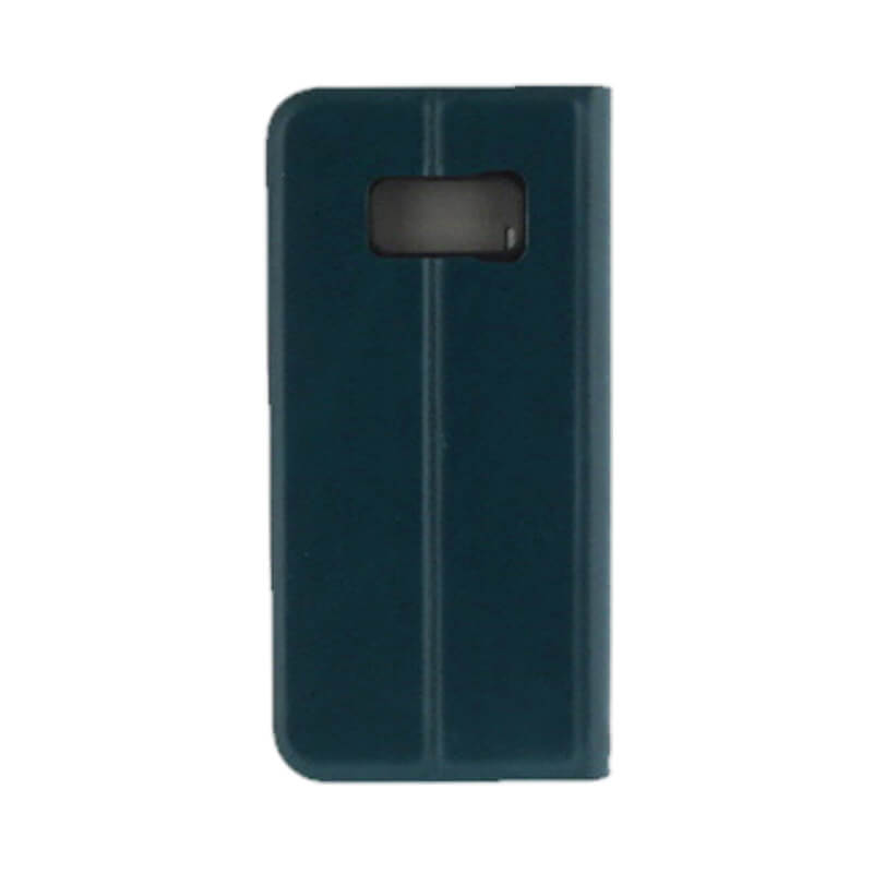 Galaxy S8 SC-02J/SCV36 薄型PUレザーケース「PRIME」 ネイビー