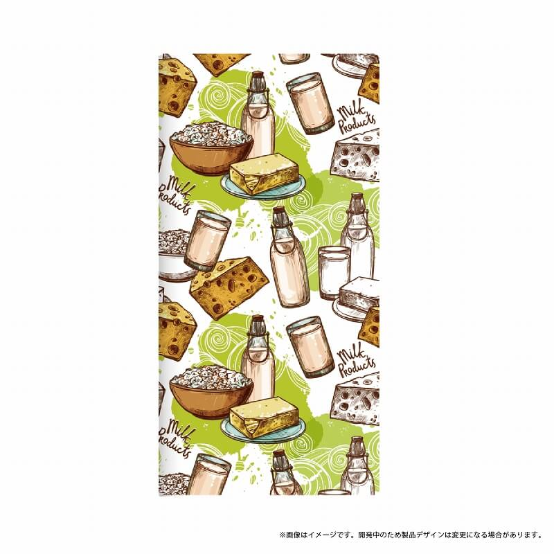 AQUOS R SH-03J/SHV39/SoftBank 薄型デザインPUレザーケース「Design+」 milk products