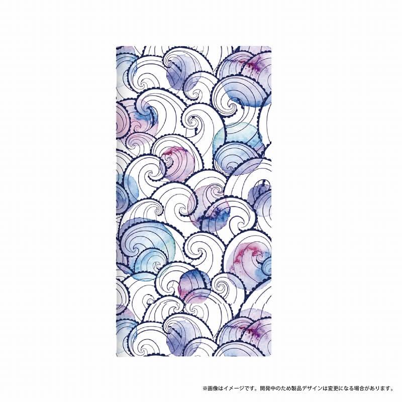 Galaxy Feel SC-04J 薄型デザインPUレザーケース「Design+」 Wave