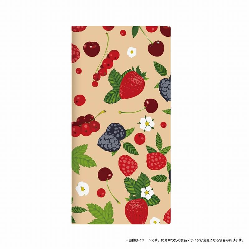 Galaxy Feel SC-04J 薄型デザインPUレザーケース「Design+」 berry