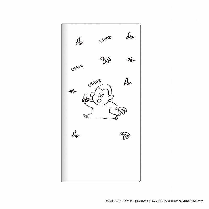 Galaxy Feel SC-04J 薄型デザインPUレザーケース「Design+」 ゴリラ