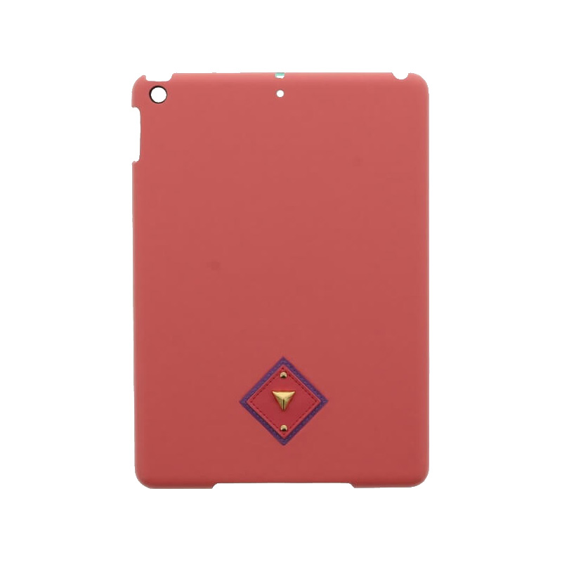 iPad 2017 9.7inch/iPad 2018 9.7inch 【Lucy】オルテガパターンPUレザーケース/ピンク