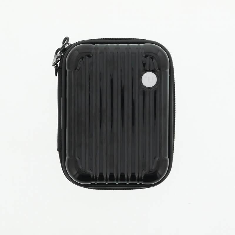 【+U】Noah/キャリーケース風Electronic Cigarette Case/ブラック