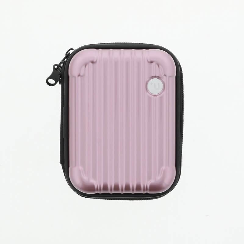 【+U】Noah/キャリーケース風Electronic Cigarette Case/ローズゴールド