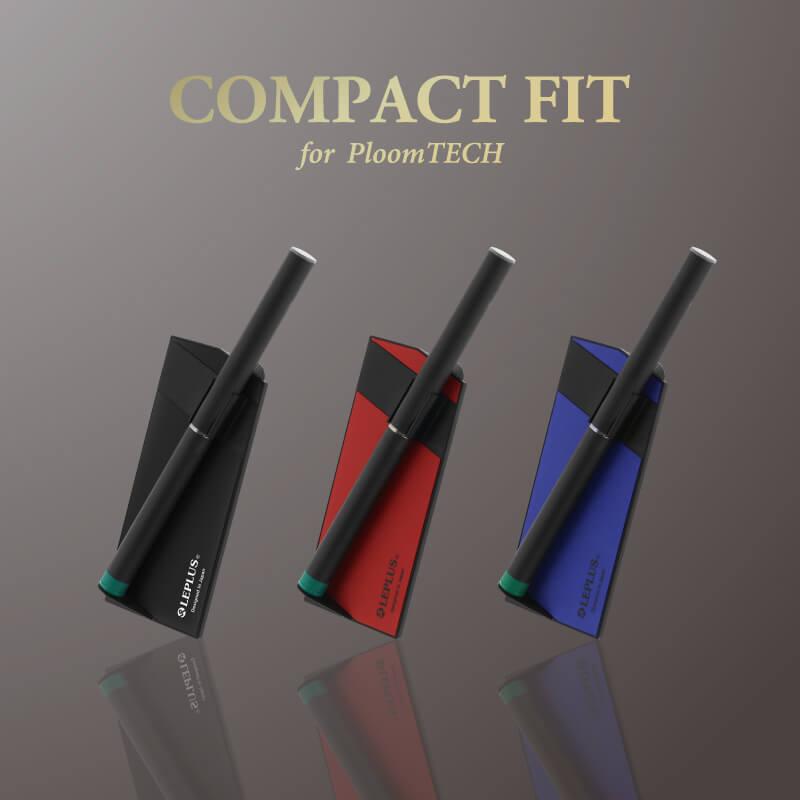 Ploom TECH 電子タバコケース 「COMPACT FIT」レッド