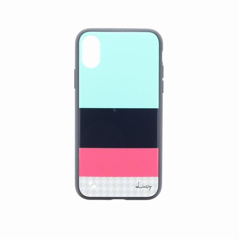 iPhone X【Lucy】Katie/ハイブリットケース/C