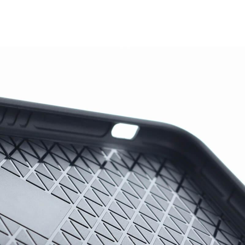 iPhone 8/7【+U】Eric/ハイブリットケース/ブラック