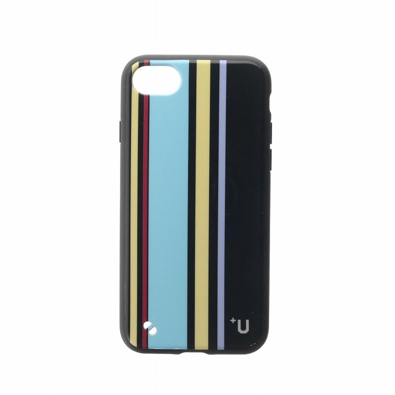 iPhone 8/7【+U】Eric/ハイブリットケース/グレー