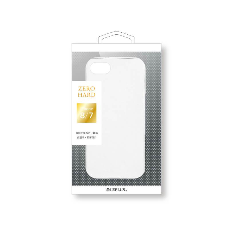 iPhone 8/7 超極薄ハードケース 「ZERO HARD」 クリア
