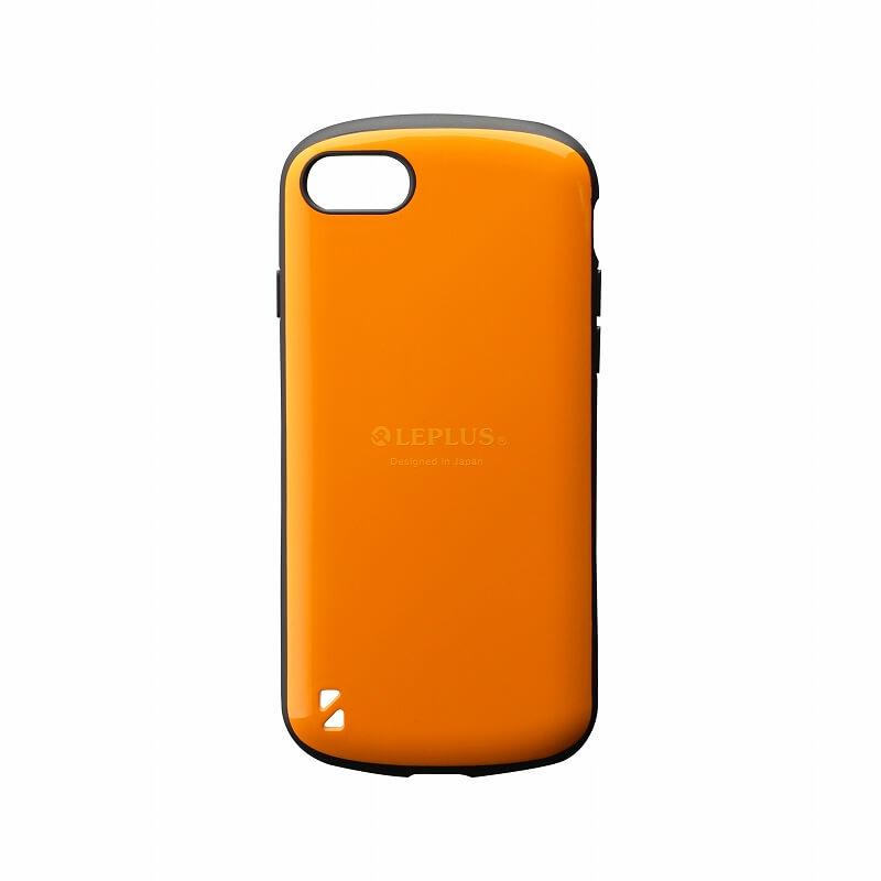 iPhone 8/7 耐衝撃ハイブリッドケース「PALLET」 オレンジ