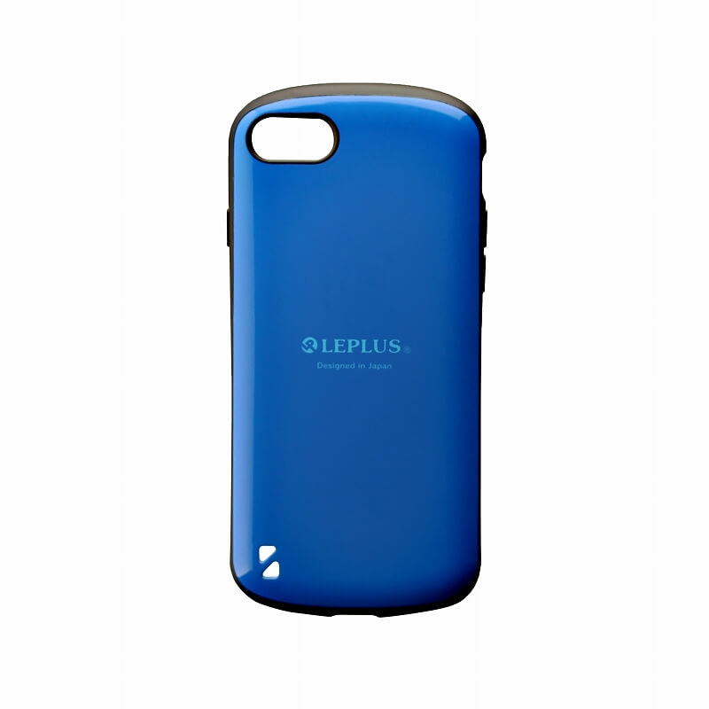 iPhone 8/7 耐衝撃ハイブリッドケース「PALLET」 ブルー