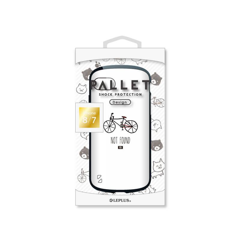 iPhone 8/7 耐衝撃ハイブリッドケース「PALLET Design」 自転車
