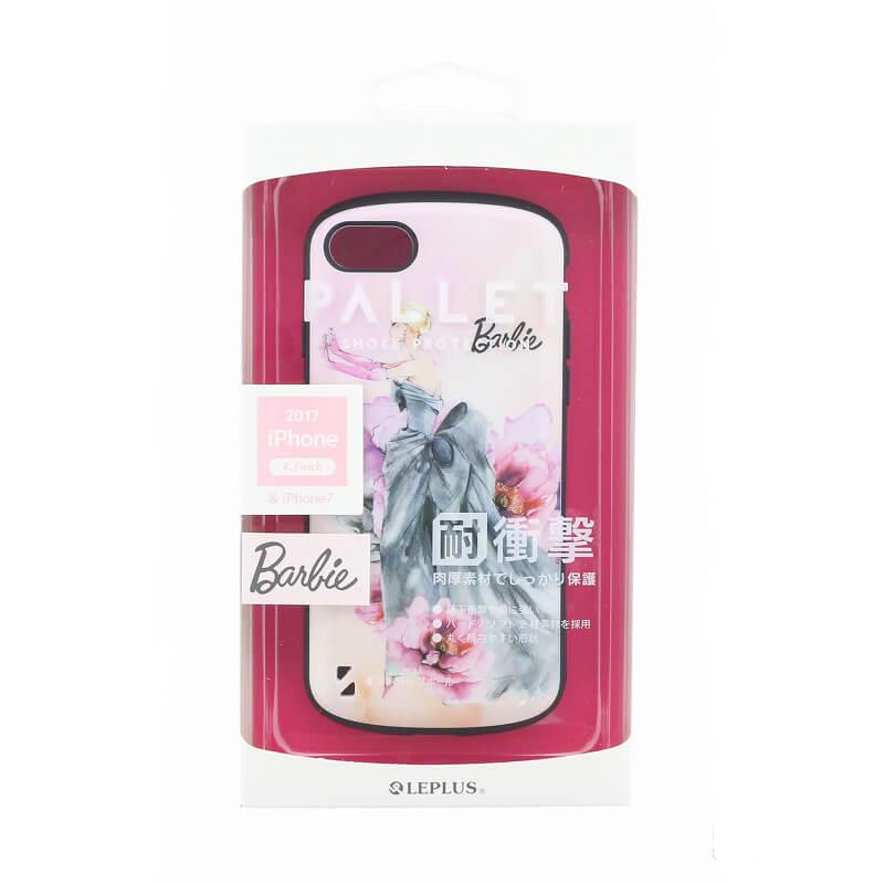 iPhone 8/7 Barbie Design/耐衝撃ケース「PALLET」/エレガンス柄