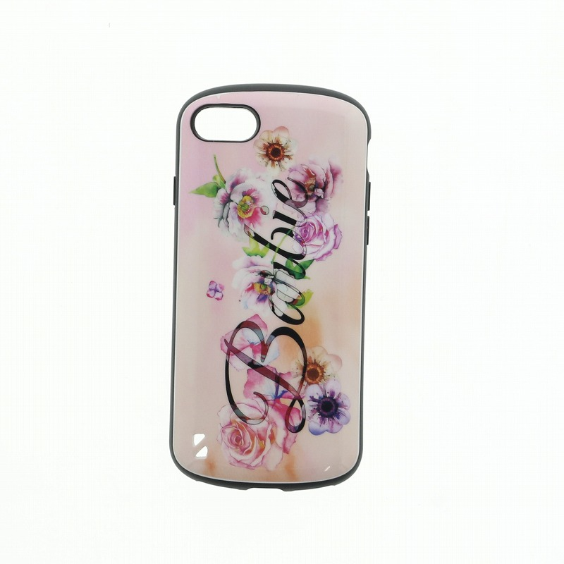 iPhone 8/7 Barbie Design/耐衝撃ケース「PALLET」/ロゴ柄