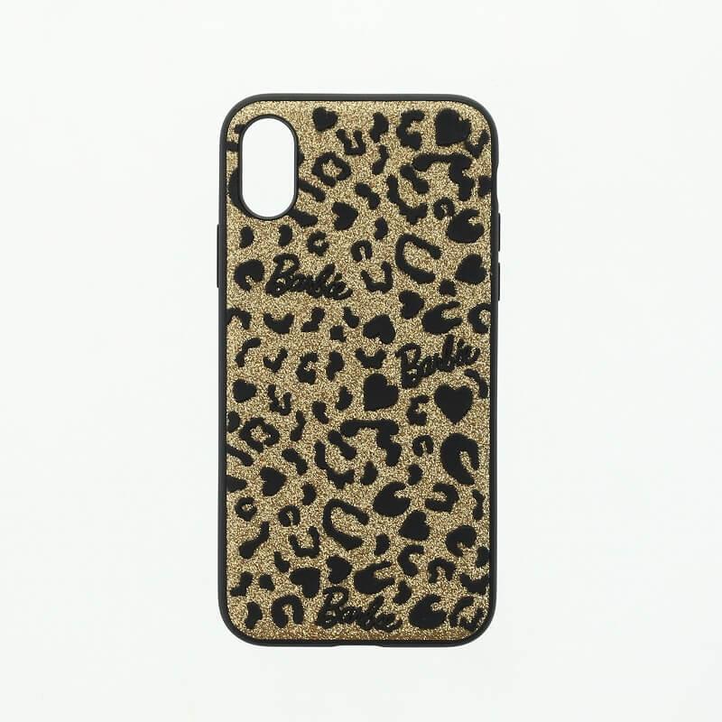 iPhone XS/iPhone X Barbie Design/3Dソフトケース/ゴールド