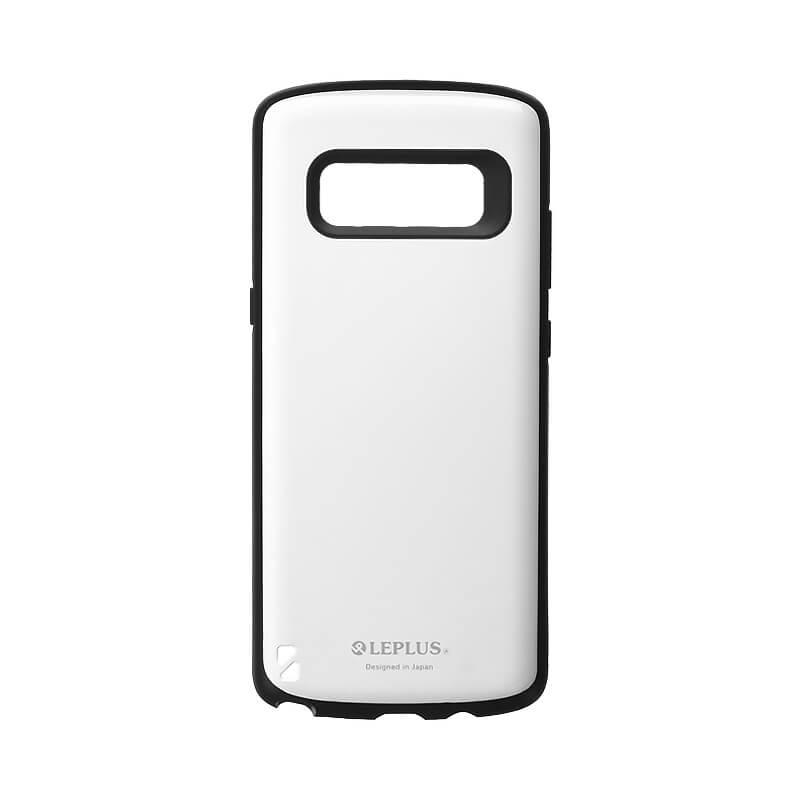 Galaxy Note8 SC-01K/SCV37 耐衝撃ハイブリッドケース「PALLET」 ホワイト