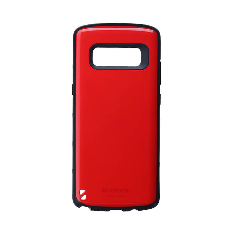Galaxy Note8 SC-01K/SCV37 耐衝撃ハイブリッドケース「PALLET」 レッド