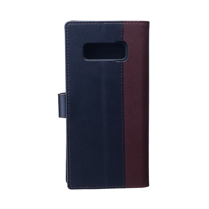 Galaxy Note8 SC-01K/SCV37 上質PUレザーブックケース「PREMIER」 レッド