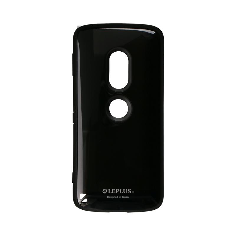 Xperia(TM) XZ2 SO-03K/SOV37/SoftBank 耐衝撃ハイブリッドケース「PALLET」 ブラック