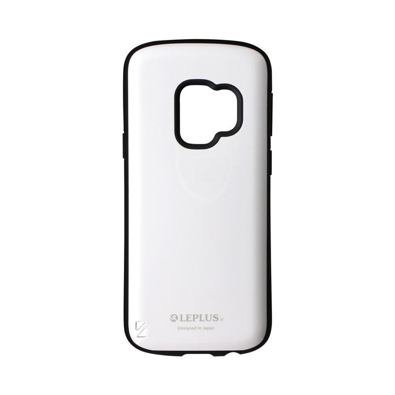 Galaxy S9 SC-02K/SCV38 耐衝撃ハイブリッドケース「PALLET」 ホワイト