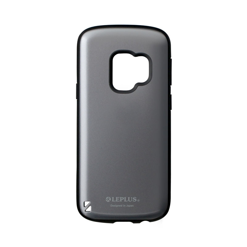 Galaxy S9 SC-02K/SCV38 耐衝撃ハイブリッドケース「PALLET」 メタルシルバー