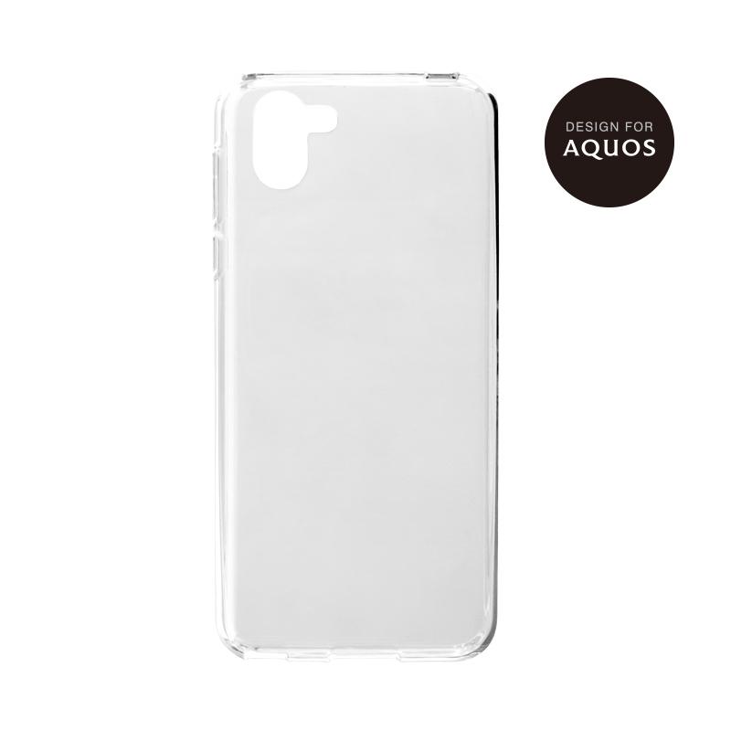 AQUOS R2 SH-03K/SHV42/SoftBank TPUケース「CLEAR SOFT」 クリア