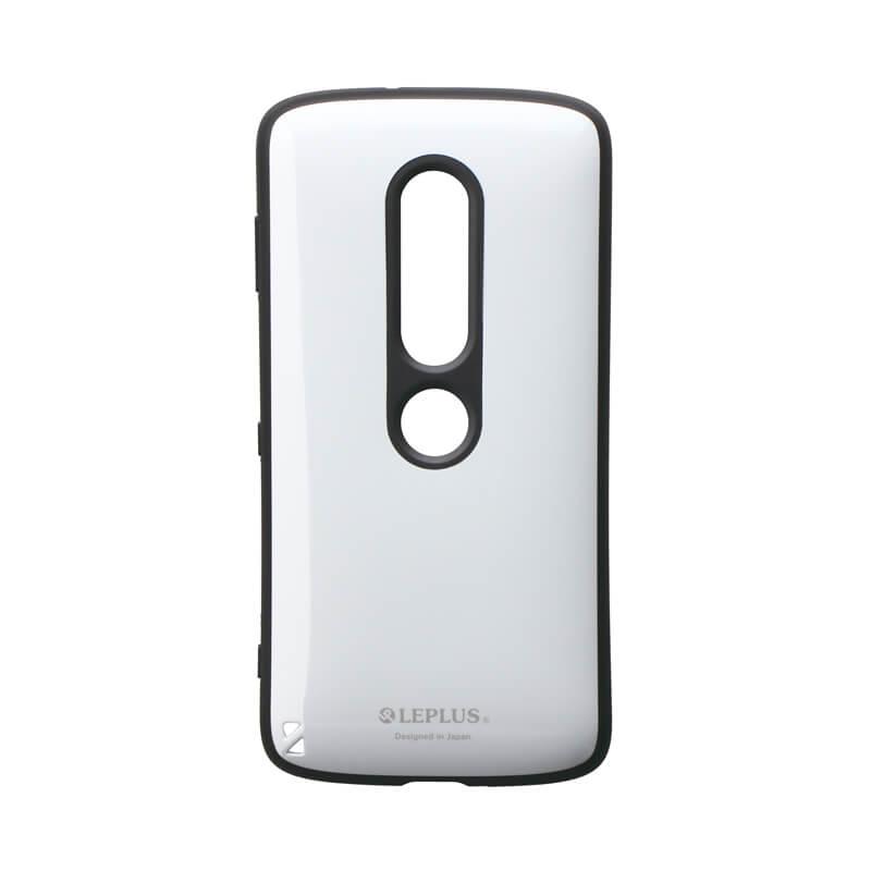 Xperia(TM) XZ2 Premium SO-04K/SOV38 耐衝撃ハイブリッドケース「PALLET」 ホワイト