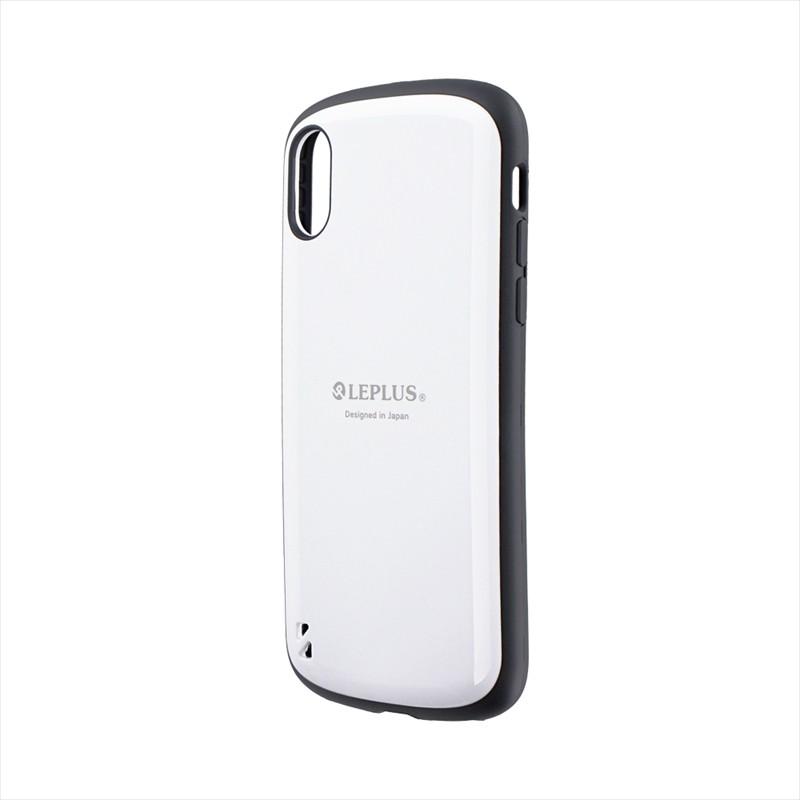 iPhone XS/iPhone X 耐衝撃ハイブリッドケース「PALLET」 ホワイト