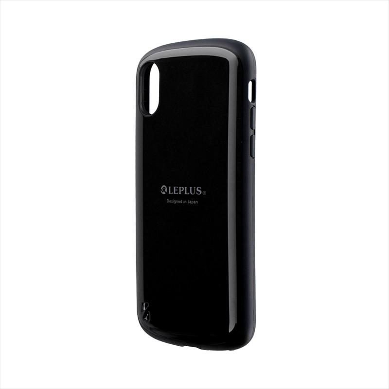 iPhone XS/iPhone X 耐衝撃ハイブリッドケース「PALLET」 ブラック